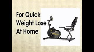 Marcy Magnetic Recumbent Exercise Bike NS 716R Review