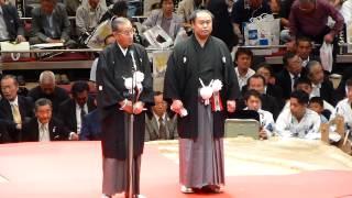 2013年6月1日(土)、垣添引退雷襲名披露大相撲に行ってきました! 断髪前...