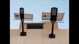 توفير فواتير الكهرباء انارة على الطاقة الشمسية الطاقة النظيفة السعودية