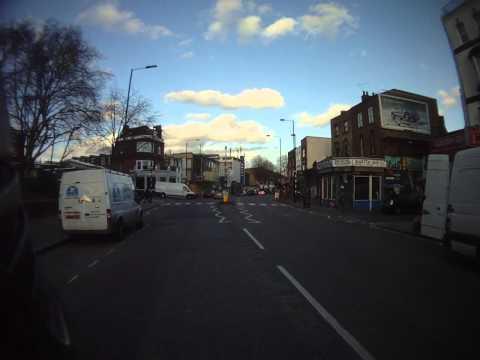 Hackney road zebra crossing
