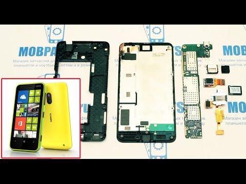 Nokia Lumia 630 как разобрать, ремонт и сборка Nokia Lumia 630