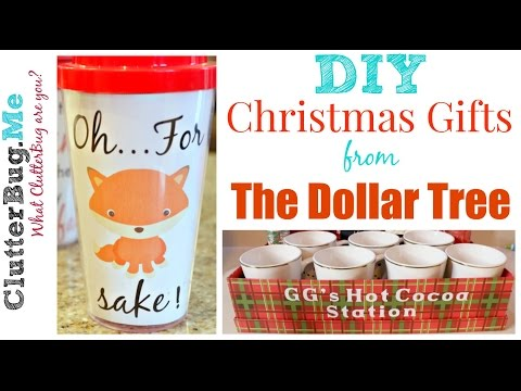 DIY Christmas Gift Ideas From The Dollar Tree