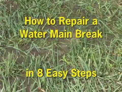 Water Main Break Repair