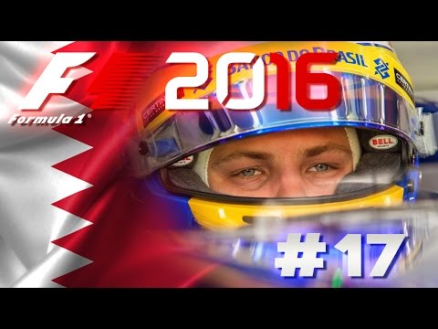 F1 2016 Deutsch Lets Play #17 Bahrain im Sandregen - [HD]