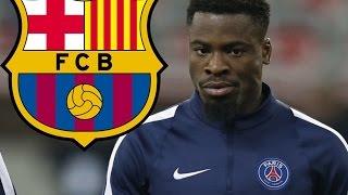 Serge Aurier Psg - FC Barcelona Target 20162017 Amazing Skills Show  HD