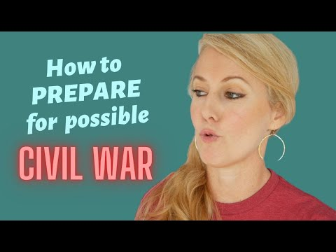 Prepping For The Possible Coming CIVIL WAR