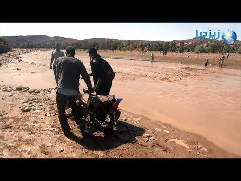 قرى معزولة بسبب فيضان واد الرك بالجنوب الشرقي