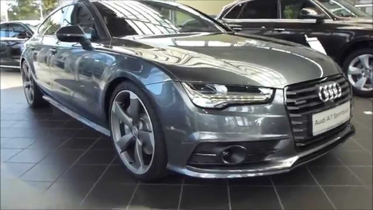 2015 audi a7 sportback 39 39 s line 39 39 3 0 tdi quattro 272 hp s tronic exterior interior playlist. Black Bedroom Furniture Sets. Home Design Ideas
