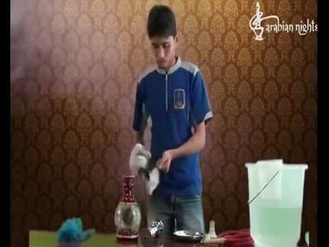 How to Clean your Hookah.