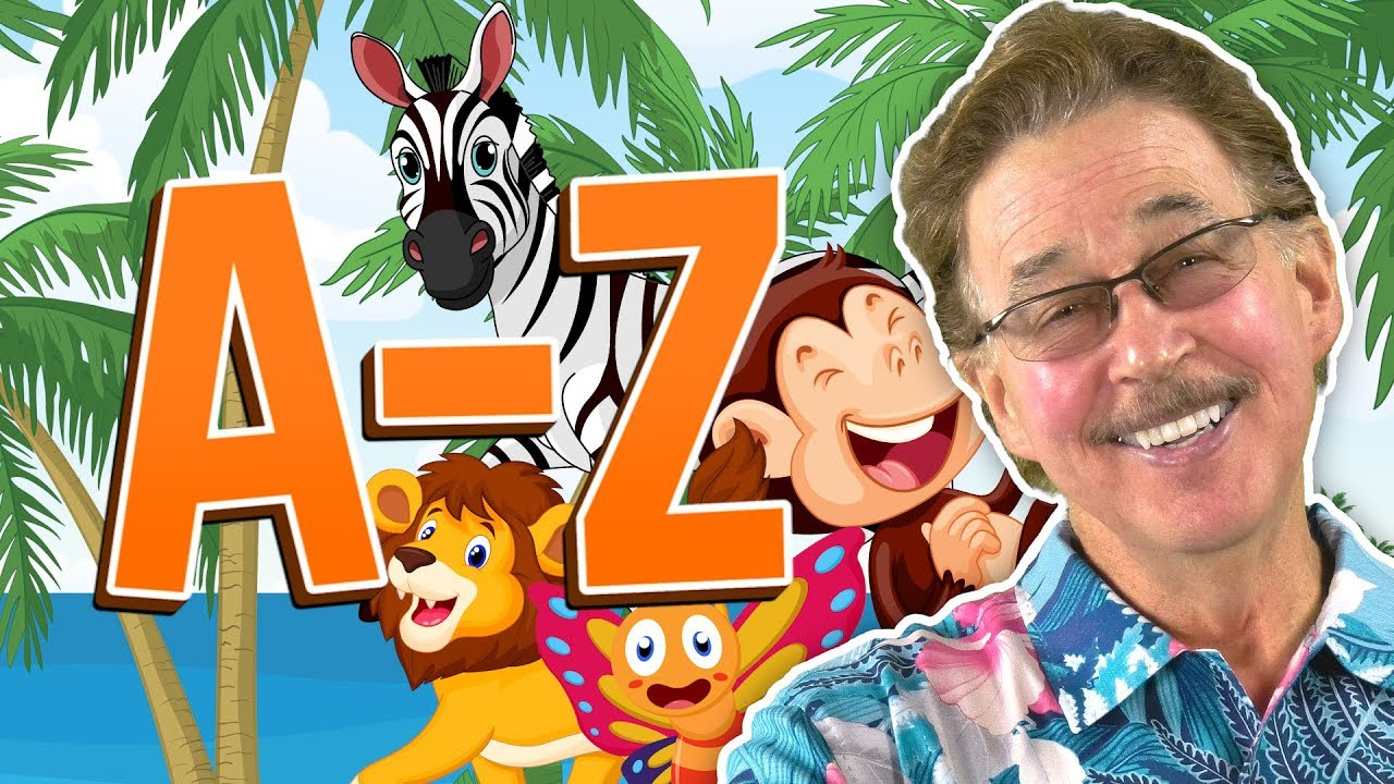 Download Animal Alphabet Move and Groove | A-Z | Jack Hartmann