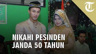 VIRAL! Pemuda 25 Tahun Nikahi Pesinden Janda 50 Tahun di Banyumas