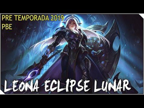 PreTemporada 2019 | LEONA ECLIPSE LUNAR | Muchas cositas nuevas en el PBE :D