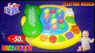 ALMACENES FIESTA JUGUETES TELEFONO MUSICAL