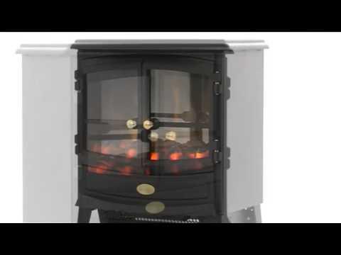 Dimplex Springborne Sbn20r Electric Stove Heater Featuring