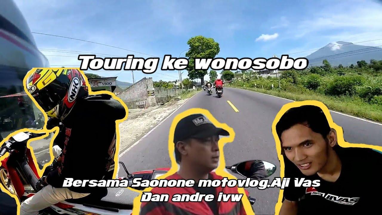 Riding  ke wonosobo nyobain Fiz-R saonone motovlog garapan mas Aji Vas