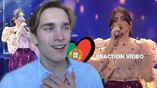 Reaction video Elisa - Medo De Sentir Portugal Eurovision 2020