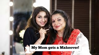 Doing My Mom's Makeup   Mature Skin Makeover