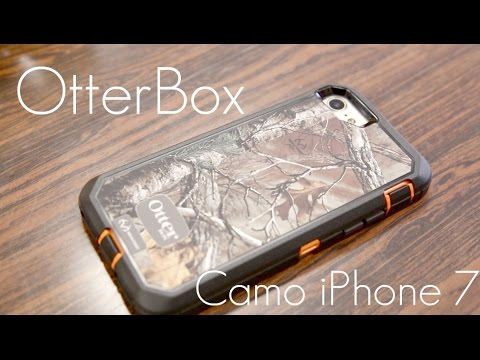 OtterBox Defender Case -  REAL TREE Camo Edition -  iPhone 7 - Review