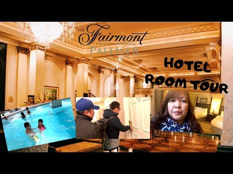 Hotel Room Tour @ The Fairmont Palliser........one Of The High End Hotels In Calgary!!!