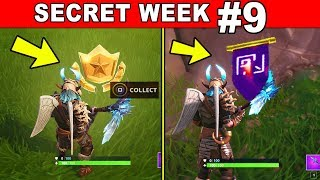 FORTNITE WEEK 9 SECRET BATTLE STAR LOCATION REPLACED BY SECRET BANNER WITH LOADING SCREEN