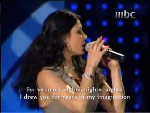 "Haifa Wehbe with David Vendetta ~ she sings & speaks English ""Yama Layali"" هيفاء وهبى"