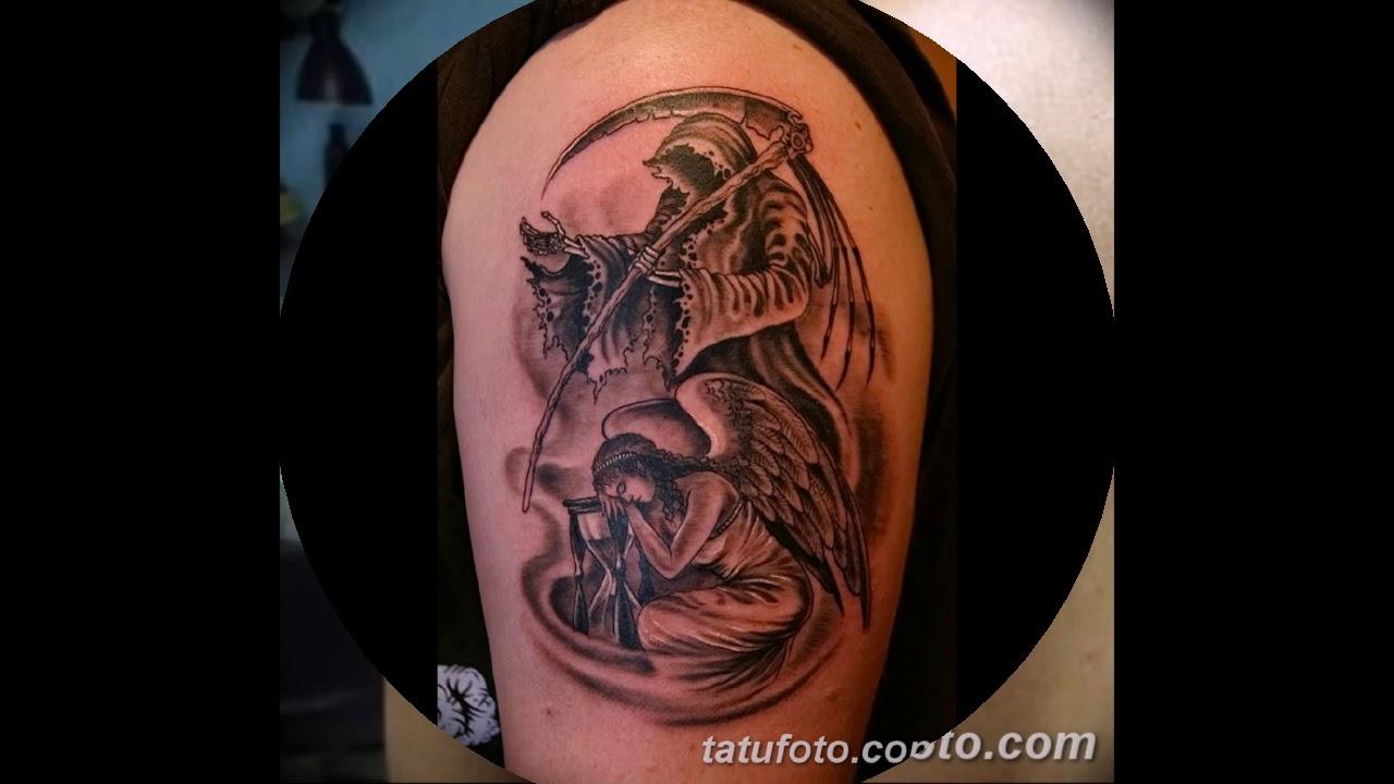 Значение тату ангел смерти - готовые рисунки татуировок на фото