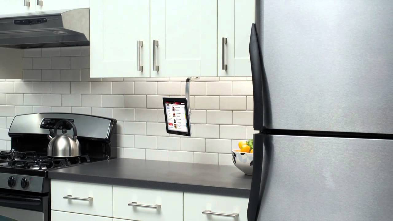 SANUS VTM1 iPad Mount for Generations 2, 3 and 4 iPads - YouTube