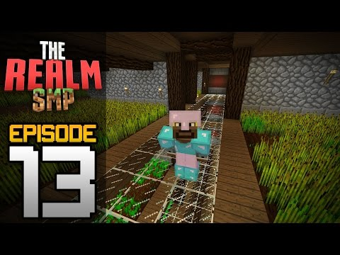 Realms Multiplayer Survival Ep. 13 - I'M GOING OVERBOARD!!! - Minecraft PE (Pocket Edition)