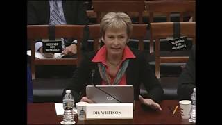 America in Space: Future Visions, Current Issues, House Science Committee, March 13, 2019
