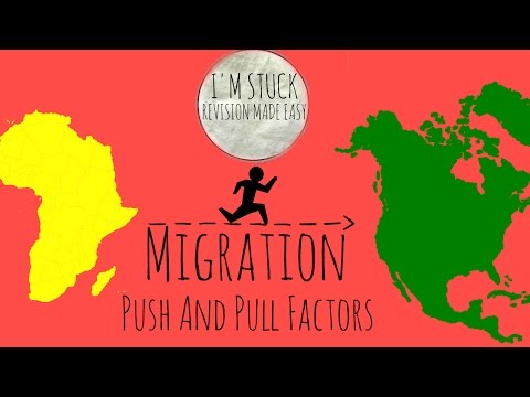 Migration - Push And Pull Factors - GCSE Geography