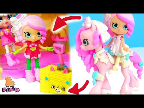 СБЕЖАВШАЯ НЕВЕСТА! ПОНИ + ШОПКИНС МУЛЬТФИЛЬМ SHOPKINS HAPPY PLACES + PONY toy video for kids