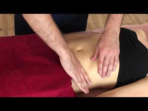 Массаж живота. Классический массаж. Massage The Abdomen.  Classic Massage