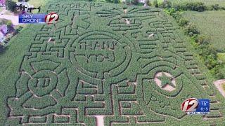 Corn Mazes Across Rhode Island