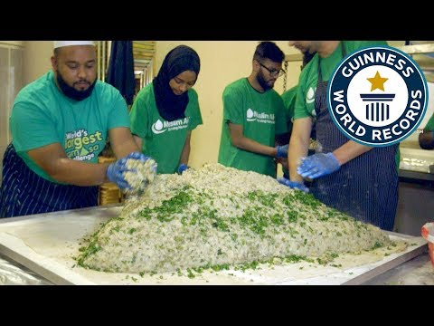 Largest samosa – Guinness World Records