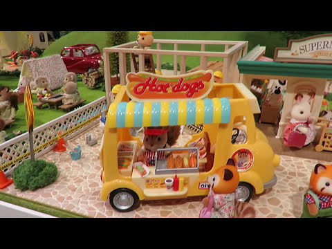 Sylvanian Family  Calico Critters World's Biggest Toys Setup Display - All Sets Casa De Muñecas