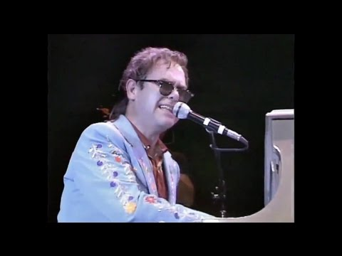 Elton John - I'm Still Standing (Live at the Prince's Trust Rock Gala 1986) HD