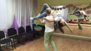 Репетиция свадебного танца
