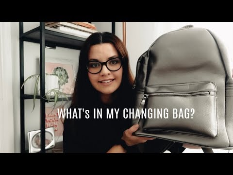 WHAT'S IN MY CHANGING BAG | DECLUTTER AND ORGANISATION | DIAPER BAG / NAPPY BAG
