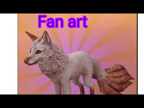 Download Fan art for : Luna Fox heart ~ mystic fox