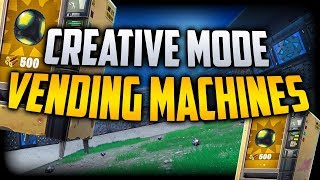 Fortnite Creative Mode Glitch Get Vending Machines and Stadiums + More on your Island PS4 PC XB1