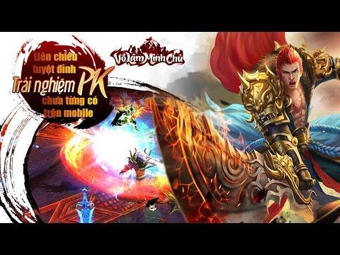 Trải Nghiệm Game Mobile Võ Lâm Minh Chủ