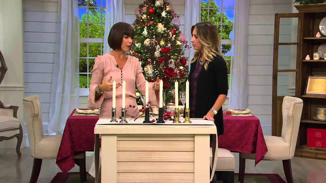 Bethlehem lights window candles with timer - Set Of 2 Luminara 8 Flameless Window Candles With Timers With Stacey Stauffer Youtube