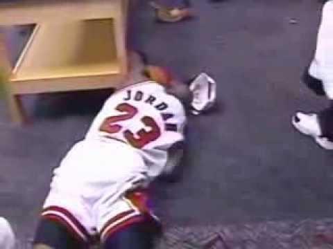 Michael Jordan - Emotional moment