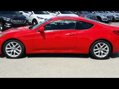 2013 Hyundai Genesis Coupe 2.0T in Winnipeg, MB R3T 5V7