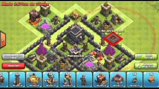 Hdv 7 rush propulseur d'air | Clash of Clans
