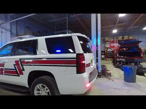 Prospect Park Fire Department 2018 Tahoe Command Vehicle