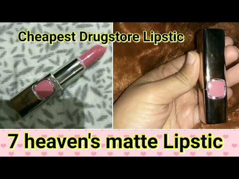 Budget Drugstore Lipstic Review,  pink...
