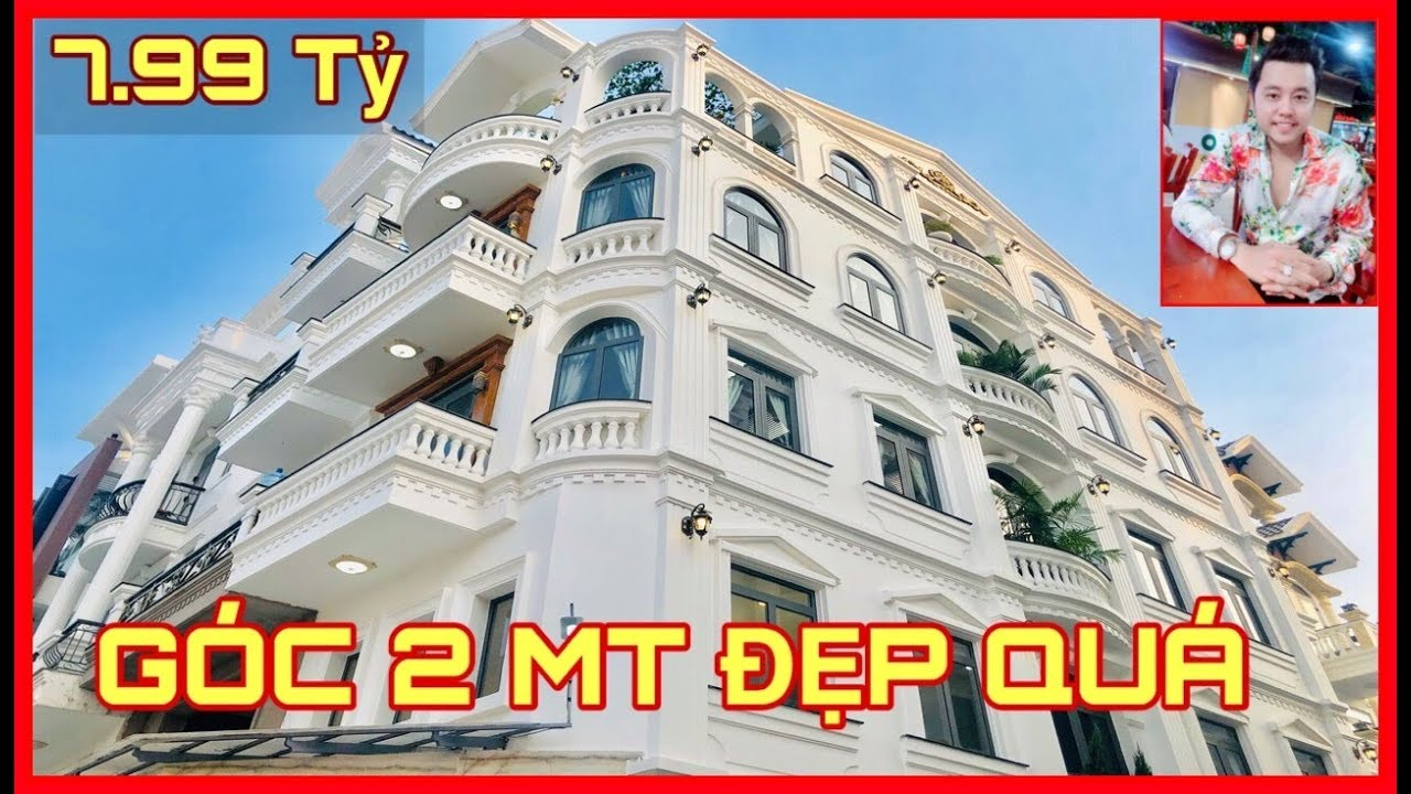 Bán Nhà Gò Vấp #207 💖Biệt Thự Góc 2 Mặt Tiền Đẳng Cấp Sát Chợ Hạnh Thông Tây 4.5 Lầu