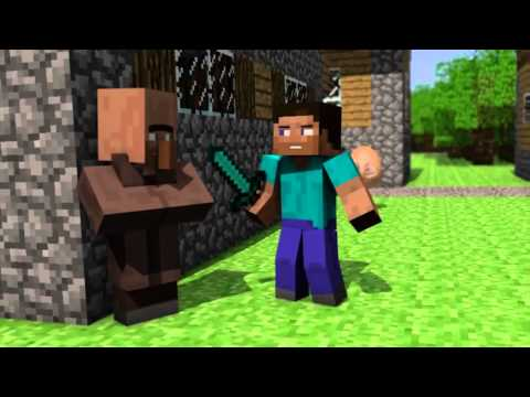 Minecraft movie! egg tutorial!