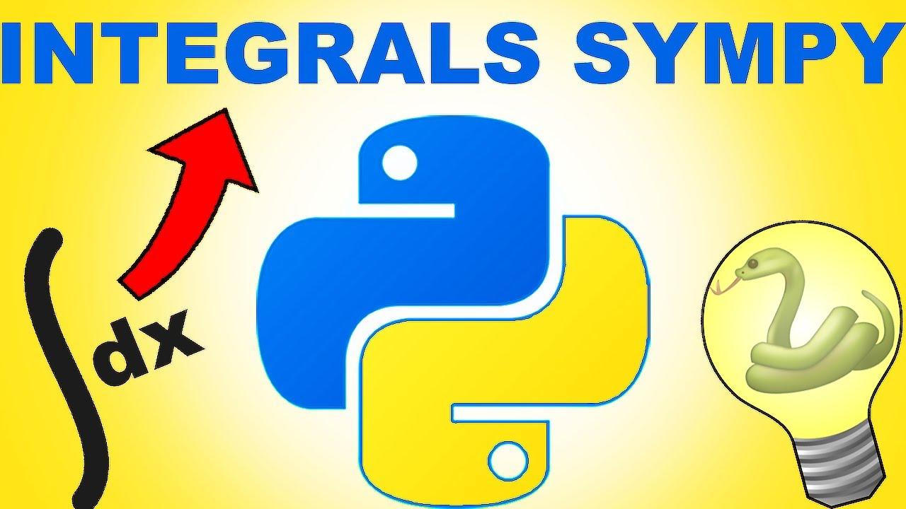 Python Sympy Integral Calculator